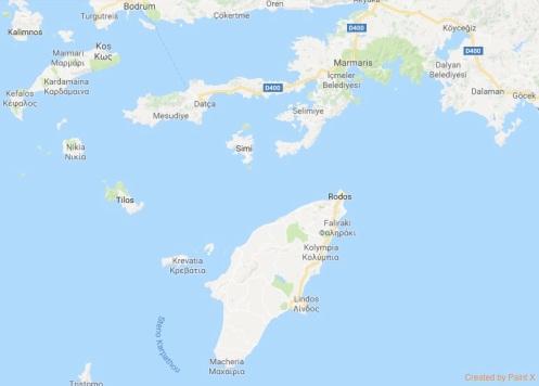 Rodos Haritası