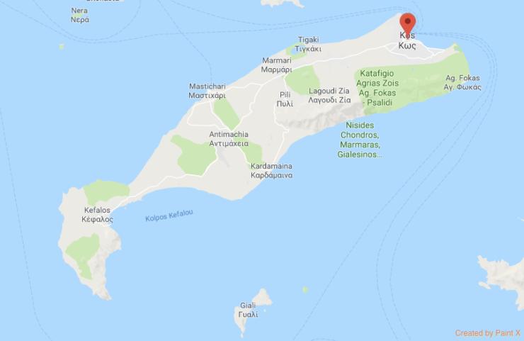 İstanköy Harita